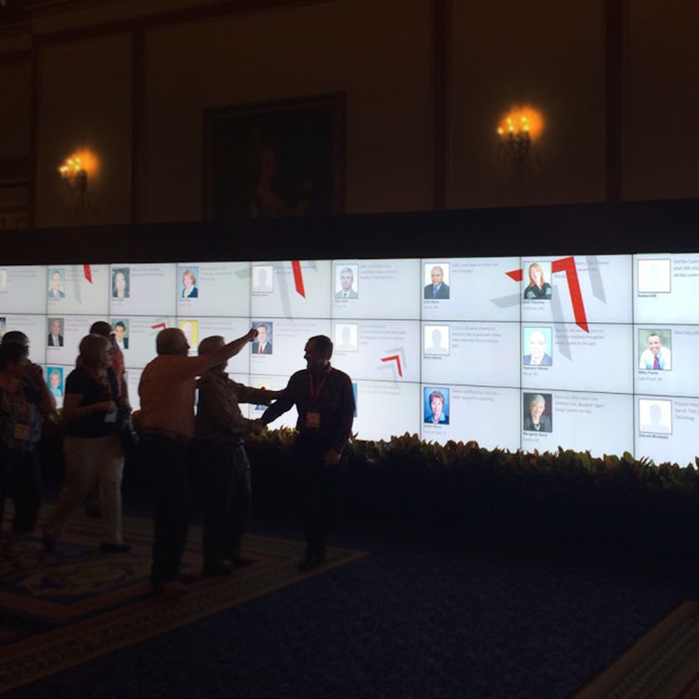 Interactive Video Wall