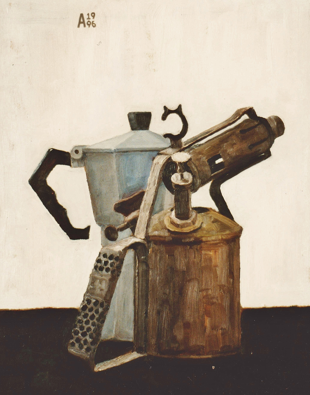 Still Life with Torch