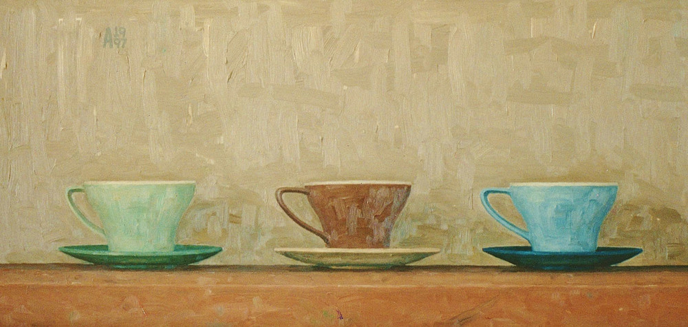 1997 Three Cups oil on board.jpg