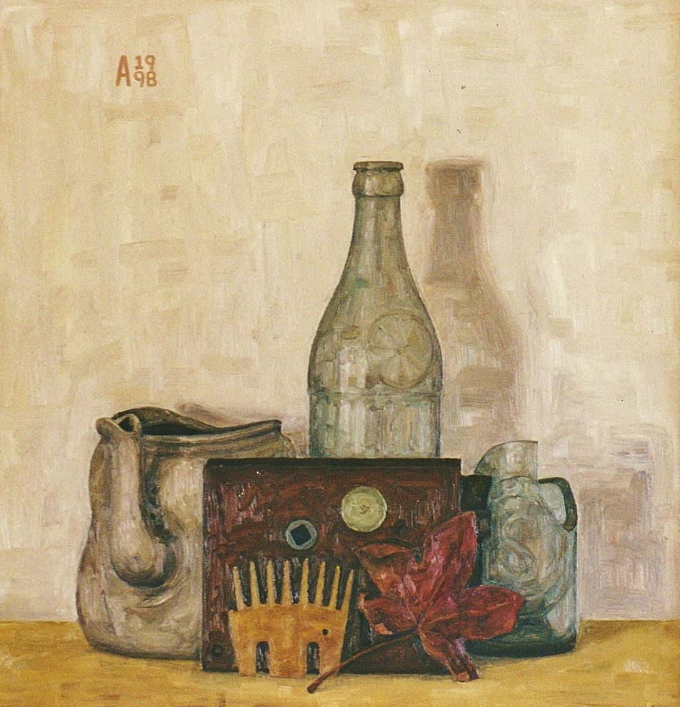 Still Life With Shearing Comb