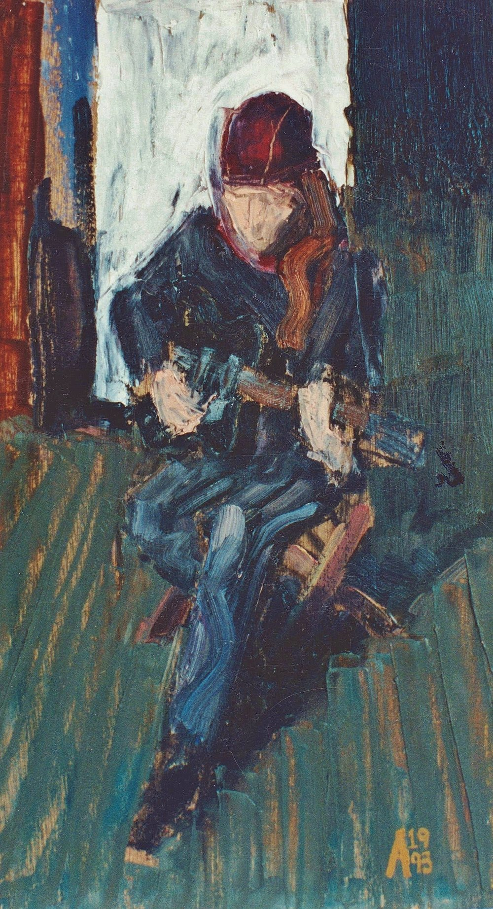 1993 Micheal oil on board.jpg