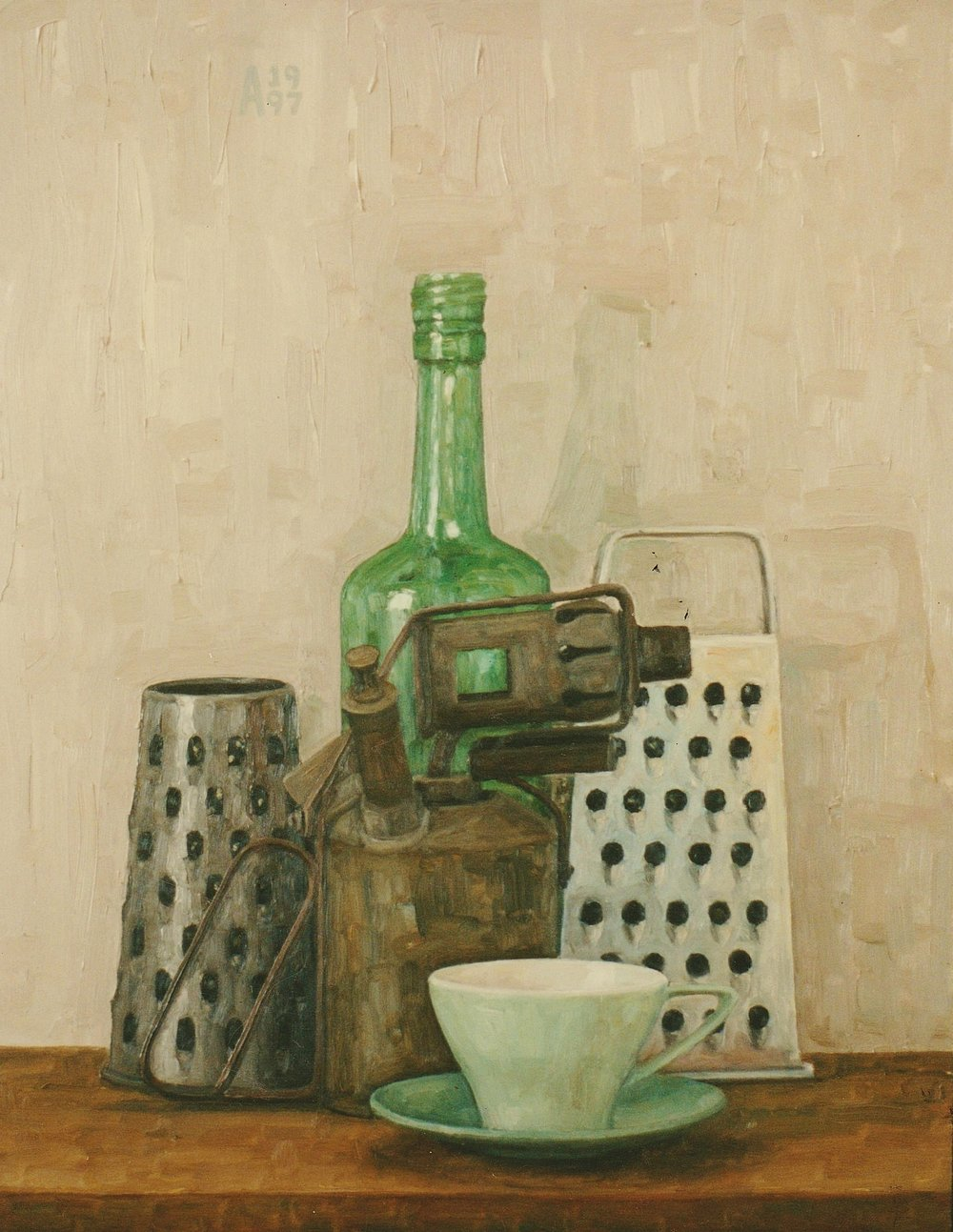 Still Life With Green Cup