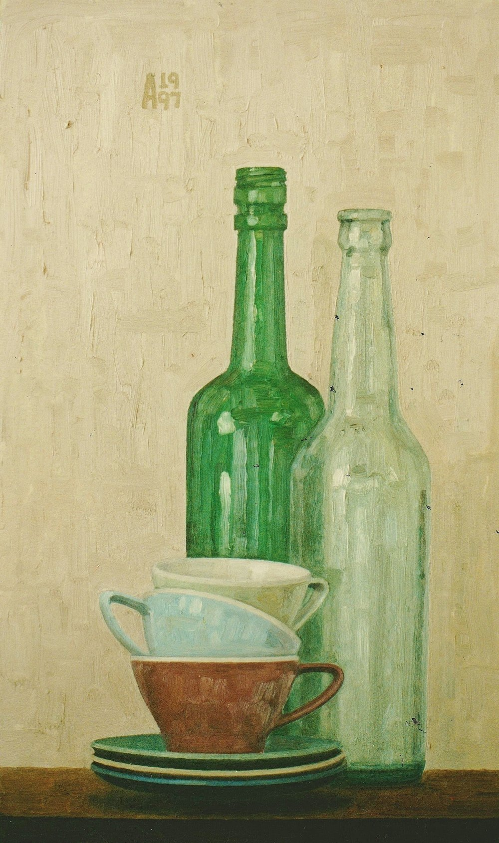 Still Life With Three Cups