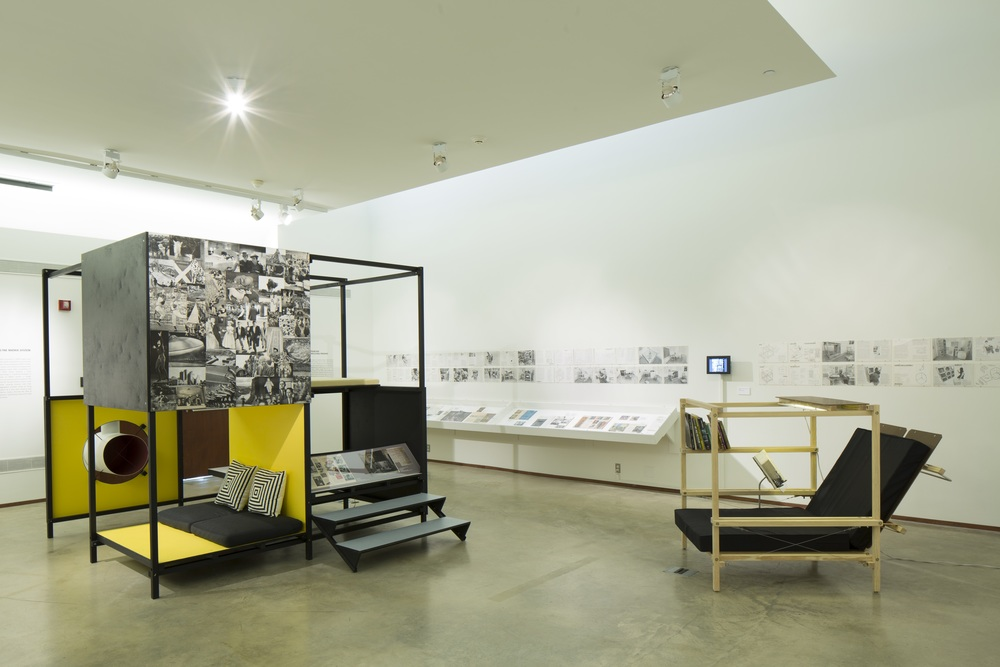 CULTURE BREAKERS: THE LIVING STRUCTURE OF KEN ISAACS   Cranbrook Art Museum June 2014 - October 2014 Photo: R.H. Hensleigh