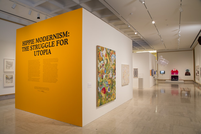 HIPPIE MODERNISM: THE STRUGGLE FOR UTOPIA   Cranbrook Art Museum June 2016 - October 2016 Photo: PD Rearick