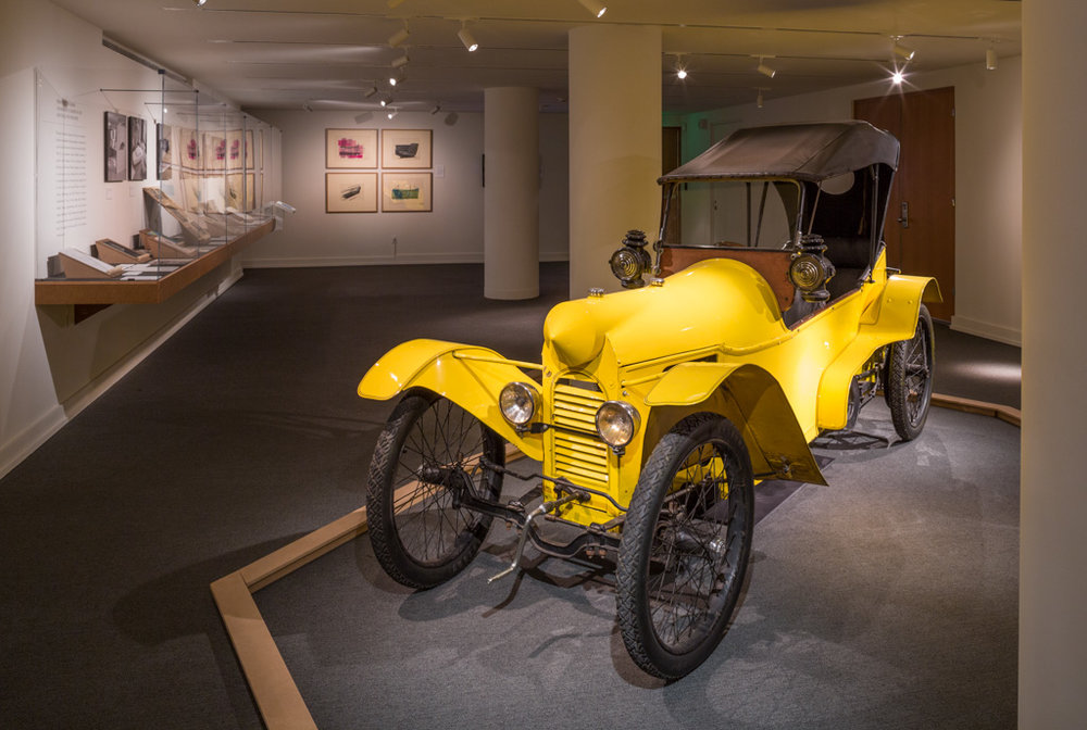 A DRIVING FORCE: CRANBROOK AND THE CAR   Cranbrook Art Museum November 2013- March 2014 Photo: R.H. Hensleigh