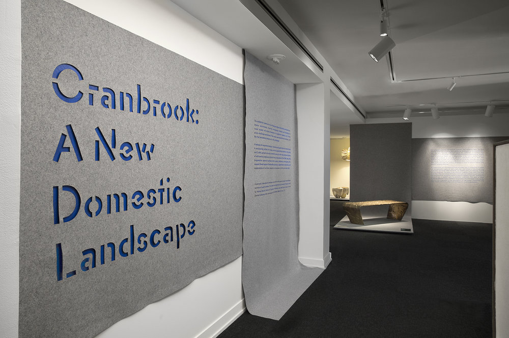 CRANBROOK: A NEW DOMESTIC LANDSCAPE Cranbrook Art Museum May 2017 - January 2018 Photo: PD Rearick
