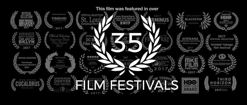 Featured in Over 35 Film Festivals