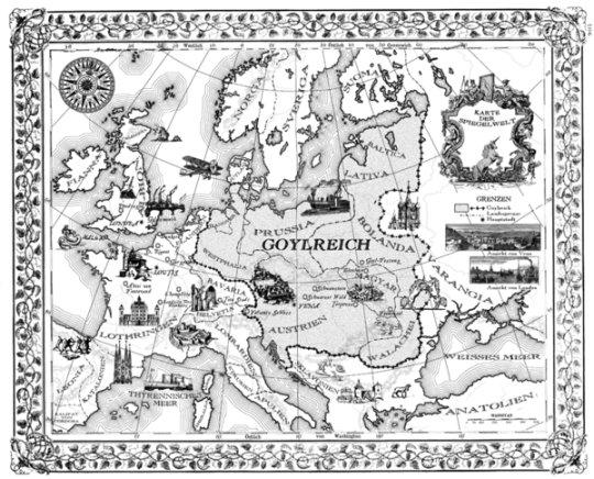 The Mirror World, as mapped by Cornelia Funke .
