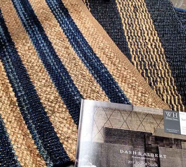 We love Dash and Albert rug collection. 💙💙💙@wintonhouseaustralia #dashandalbert #woven #jute  #rug #blue #denim #designer #interiordesign  #homedecor #wintonhouse