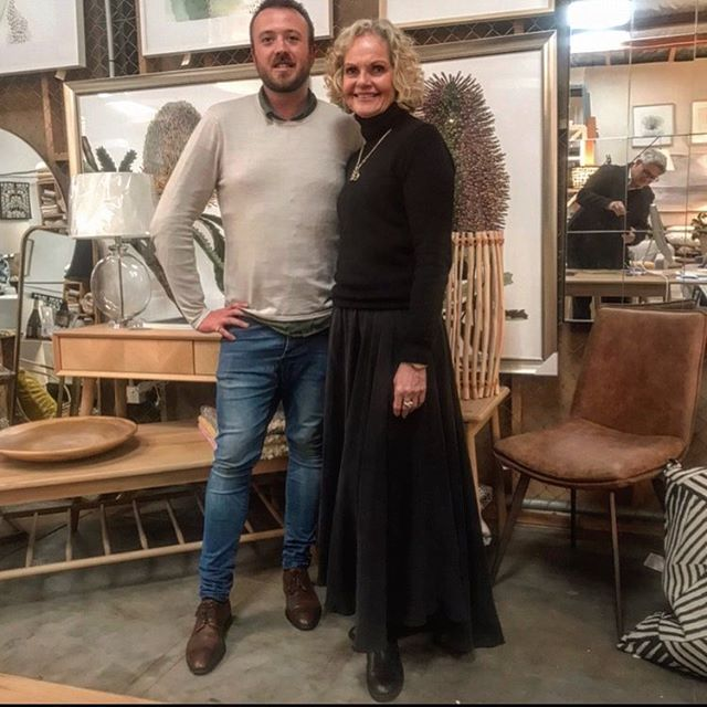 Fabulous day and first showing for @alexanderbrown__  with Lisa at @adelaide_agencies ❤️#interiordesign #adelaide #homewares #printsforsale
