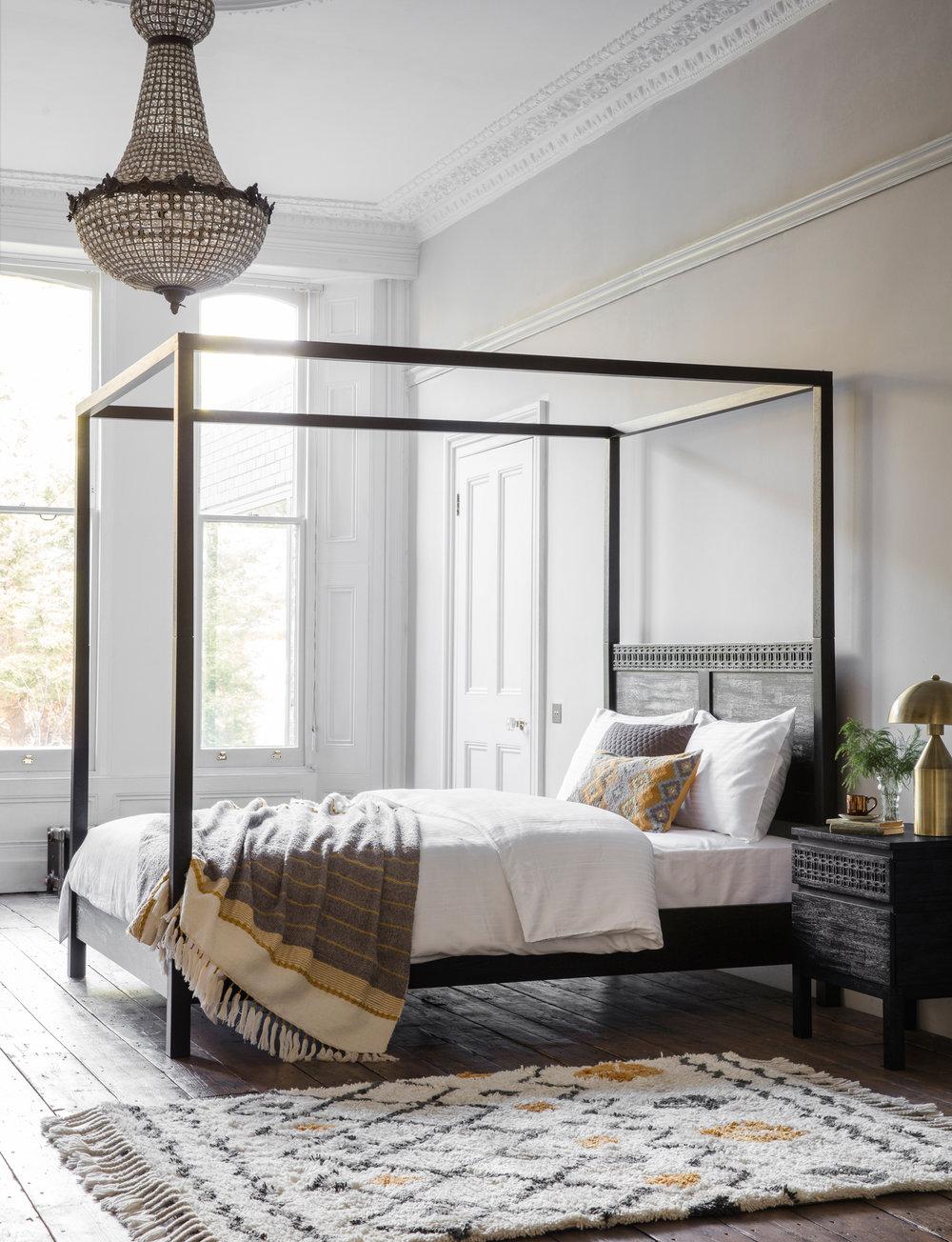 Boho Boutique 4 Poster Bed (2).jpg