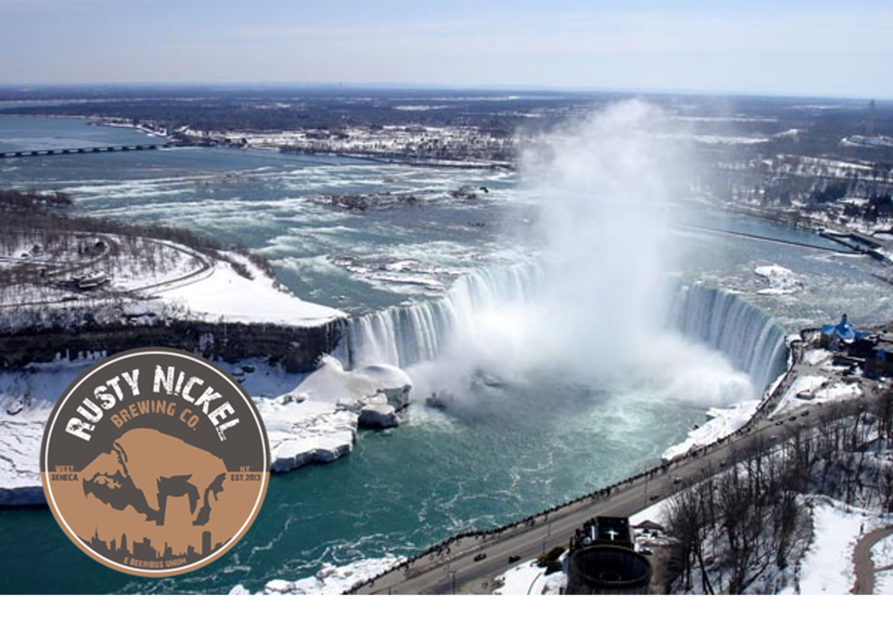 Thursday - February 8th - Niagara Falls Tour with Happy Hour at Rusty Nickel Brewing Company to follow. Cost $25.  Event starts at 5 PM.