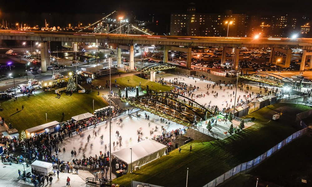 - Enjoy this update to startthe New Year off right!Skating at Canalside starting at 7 PM.Curling to follow at 8 PM. Curling is limited to the first 32 that register!