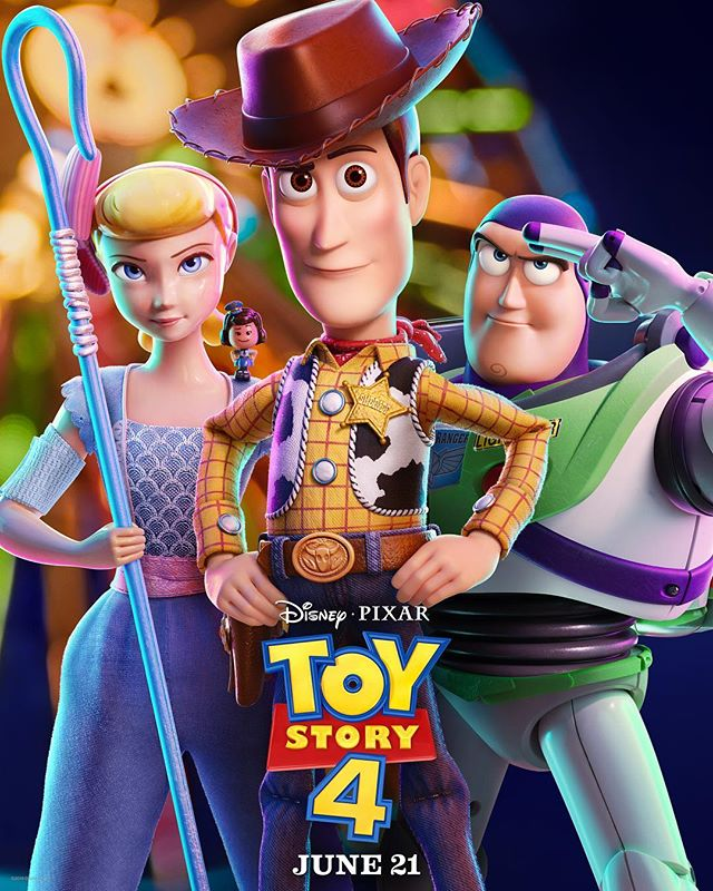 Reunited. Here's the all-new poster for #ToyStory4.