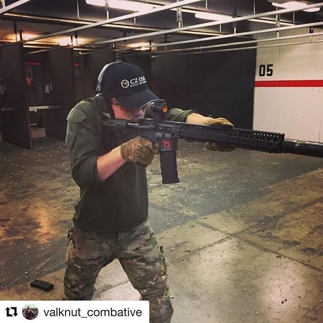 #Repost one of our instructors Dan getting some down range training in @valknut_combative ・・・ Training is important no matter the purpose for your tool. If you own a gun that you like to fancy as a self defense tool then it is your obligation to become proficient with it. If you are not then that self defense tool could..will become a liability to yourself or others. You don't need to go to the range every week to do so. Dry firing at home in a safe and controlled fashion is a great addition. Don't say you don't have time , stop watching that cat video for 5 mins and practice some weapons manipulation.