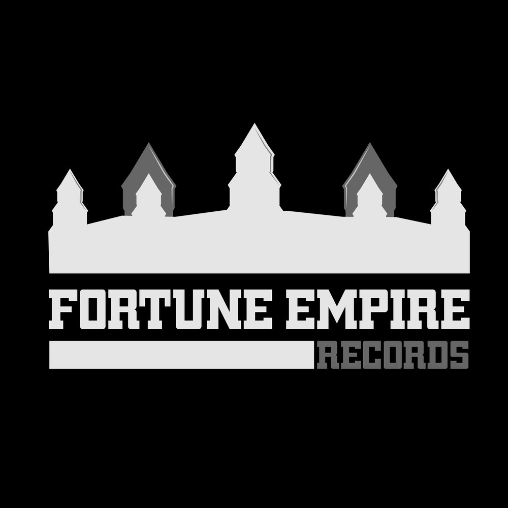 Fortune Empire Records_Grey Logo_Black BG.jpg