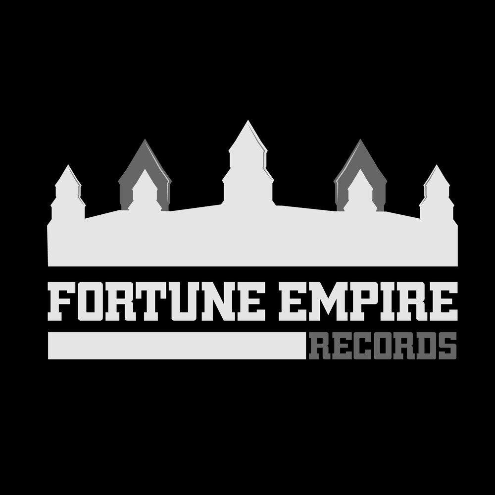 Fortune Empire Records_Grey Logo_Black BG.jpg