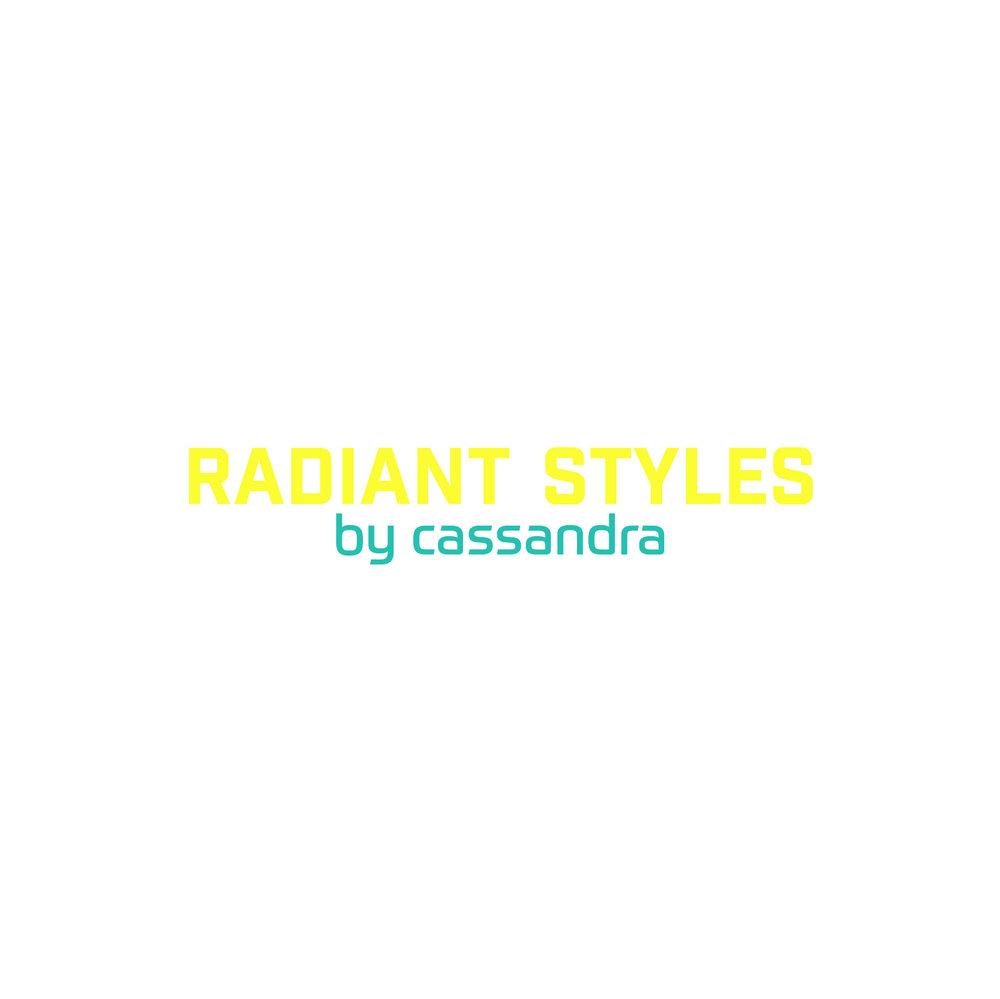 Radiant Styles_Yellow & Aqua Logo