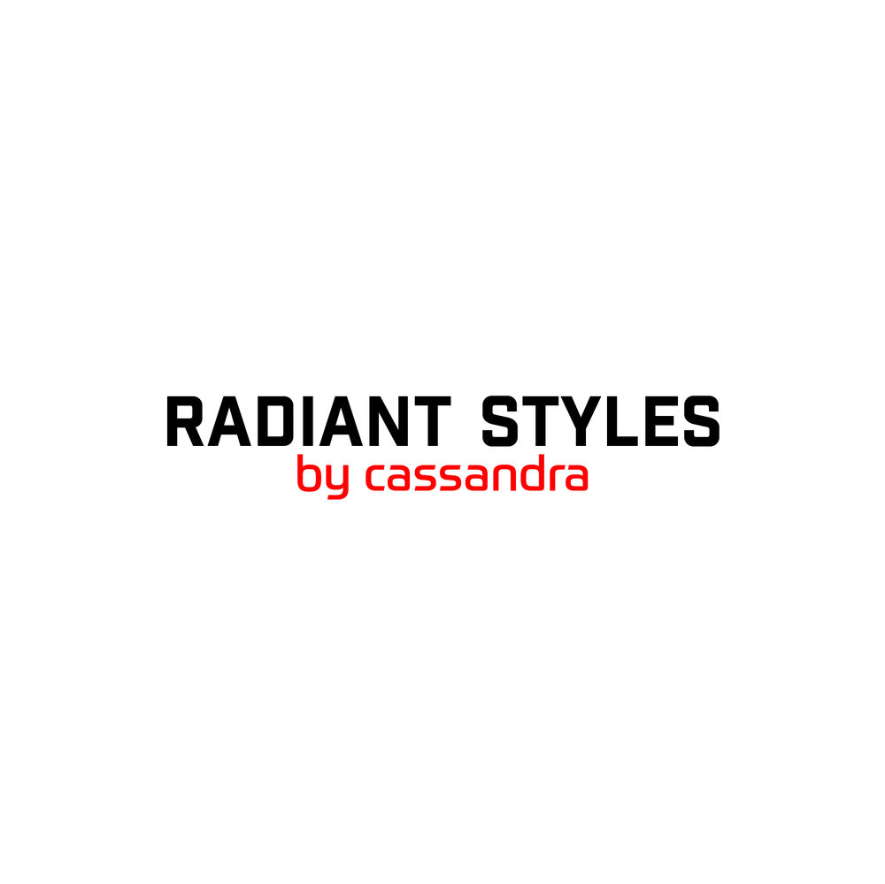 Radiant Styles_Black & Red Logo