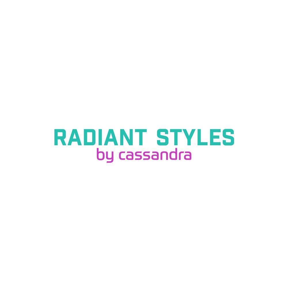 Radiant Styles_Aqua & Pink Logo