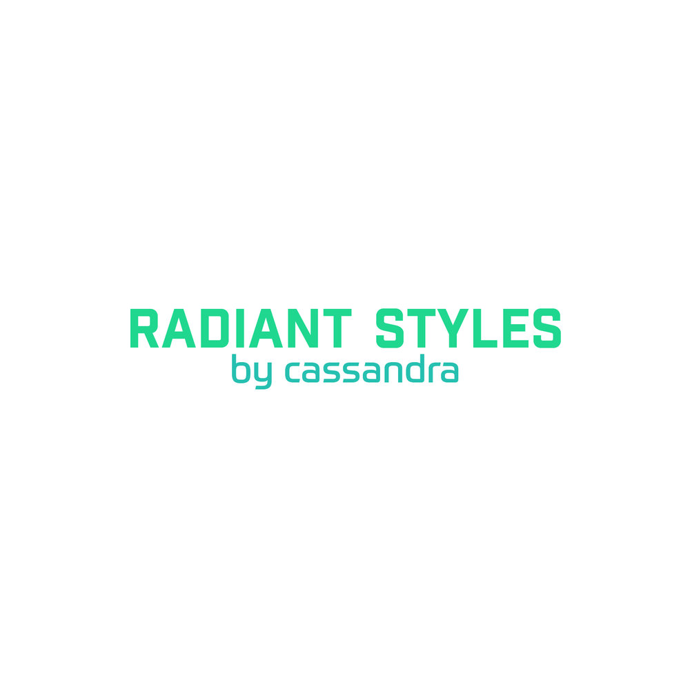Radiant Styles_Green & Aqua Logo