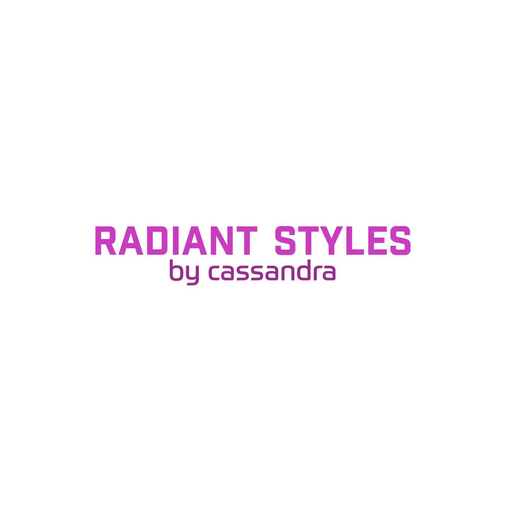 Radiant Styles_Full Pink Logo
