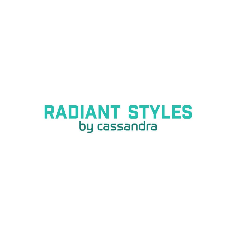 Radiant Styles_Full Aqua Logo
