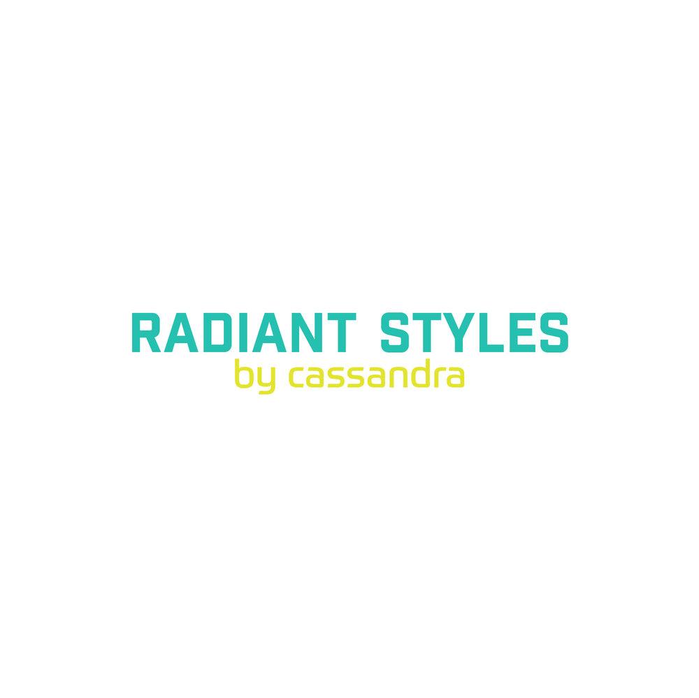 Radiant Styles_Aqua & Yellow Logo