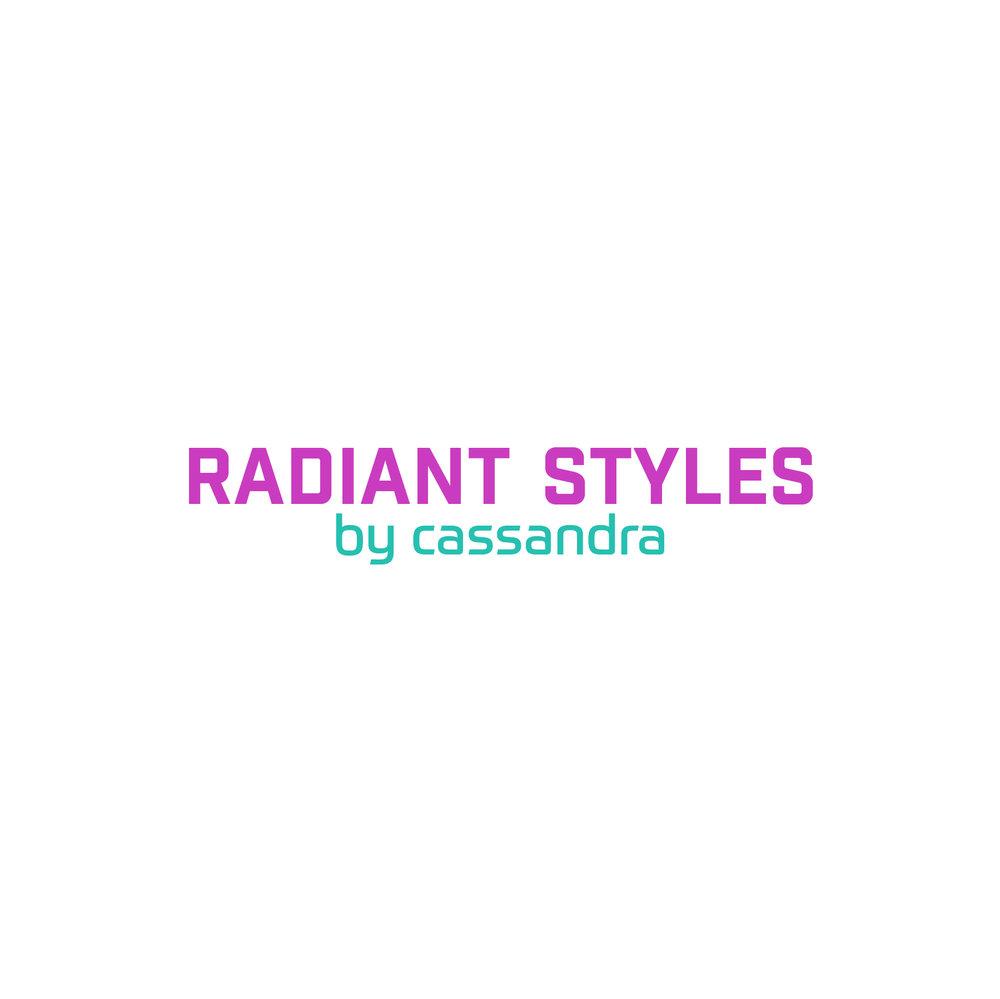 Radiant Styles_Pink & Aqua Logo