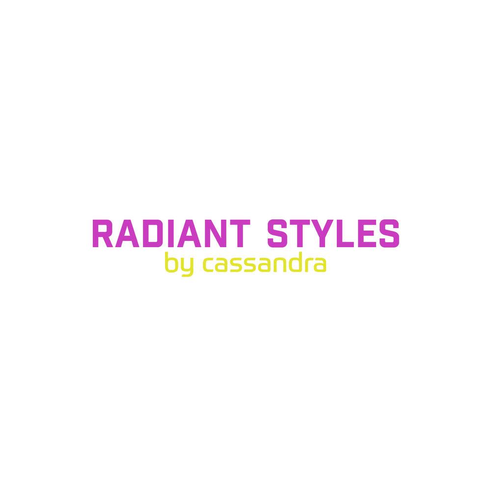 Radiant Styles_Pink & Yellow Logo