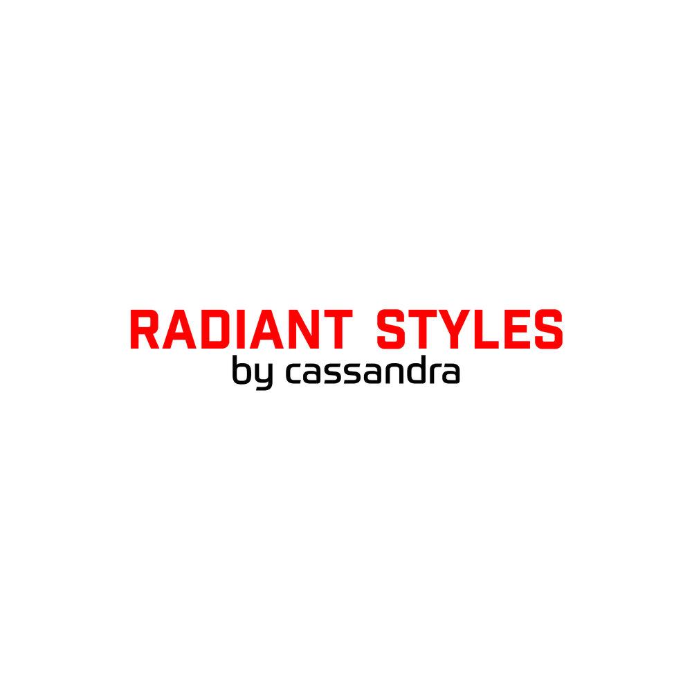 Radiant Styles_Red & Black Logo