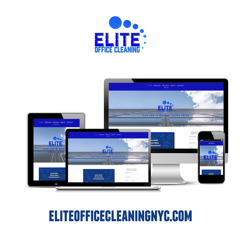 Elite Office Cleaning Website