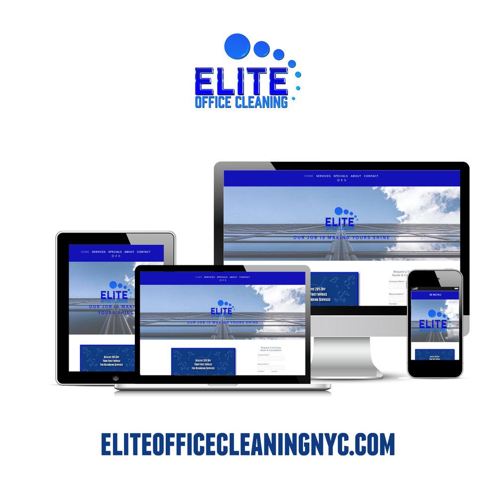 Elite Office Cleaning Website