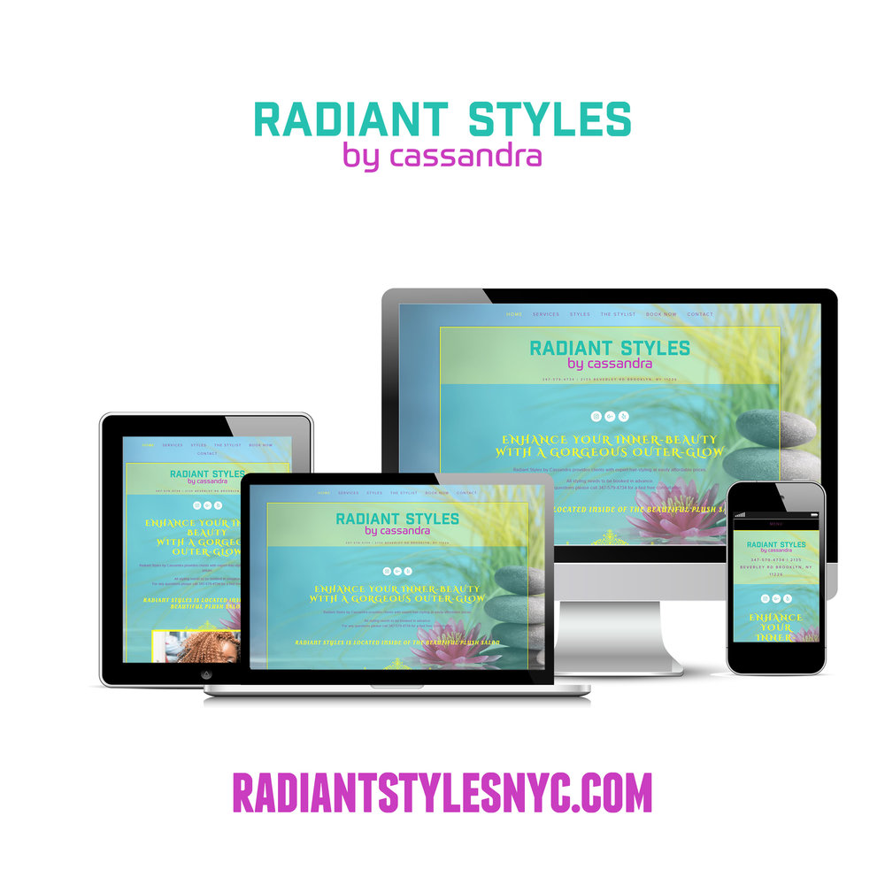 Radiant Styles Website
