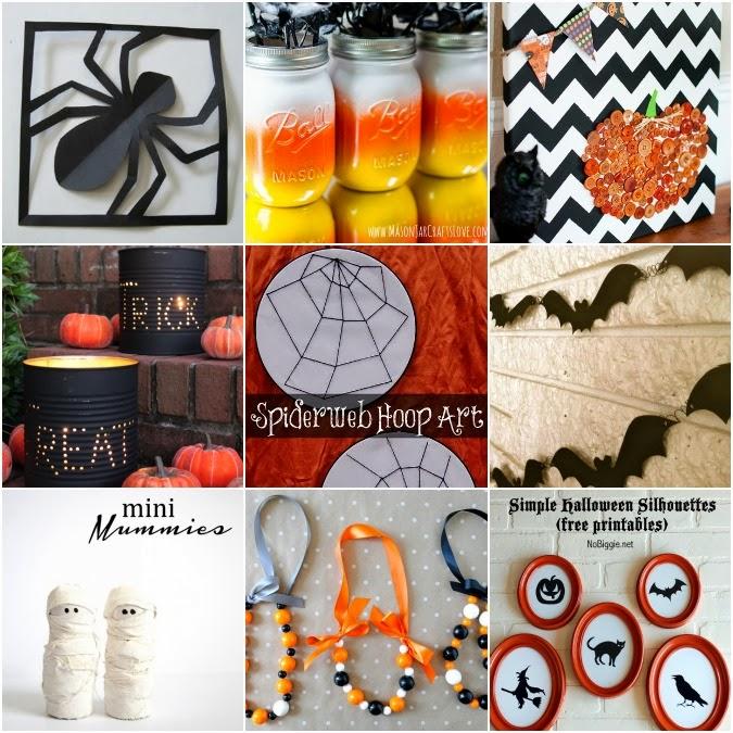 Nine Easy Halloween Crafts