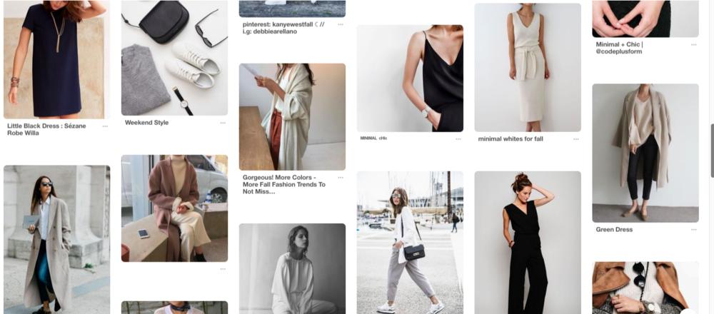 Pinterest Women's Fashion Minimalist Chic