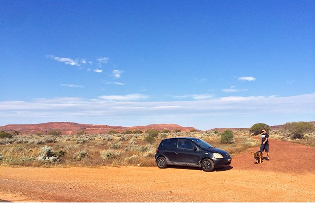 A Trusty Toyota Echo, a German Shepherd and a 4 day drive from Wollongong to Perth | What's that? Impossible? Ha!#bestroadtripever