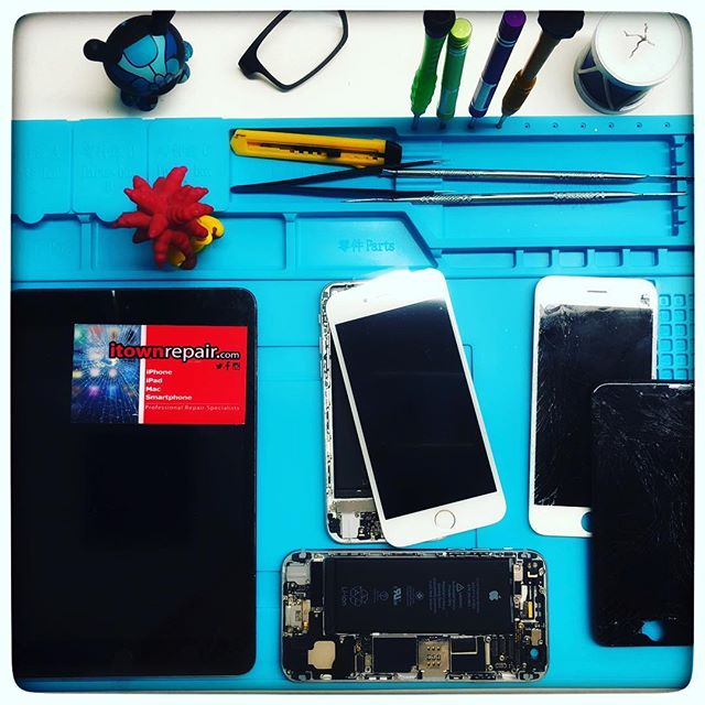 Price List (Just Glass repair if LCD and touchscreen is damaged please call us): October 2018 prices. -iPhone 8 Glass Repair $79.95 (20 minutes) -iPhone 8 Plus Glass Repair $89.99 (20 minutes) -iPhone 7 Glass Repair $69.95 (20 minutes) -iPhone 7 Plus Glass Repair $69.99 (20 minutes) -iPhone 6S Glass Repair $69.95 (20 minutes) -iPhone 6S Plus Glass Repair $69.99 (20 minutes) -iPhone 6 Glass Repair $59.95 (20 minutes) -iPhone 6 Plus Glass Repair $69.95 (20 minutes) -iPhone 5S/5C/5 Glass Repair $49.95 (20 minutes) -iPad 2/3/4/Air/Mini1/Mini2 $79.99. (2 hours or less)  For LCD/touchscreen replacement and other repairs please call us to (786) 284-1234 #iphonerepair #miami #midtownmiami #ipadrepair  #itownrepair #iphone