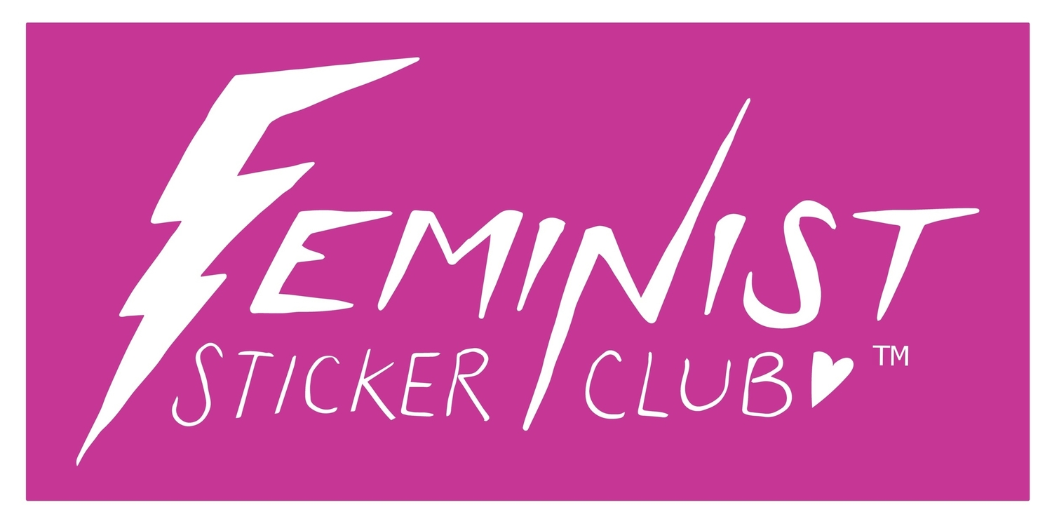 Feminist Sticker Club – Join for cute stickers & to support artists