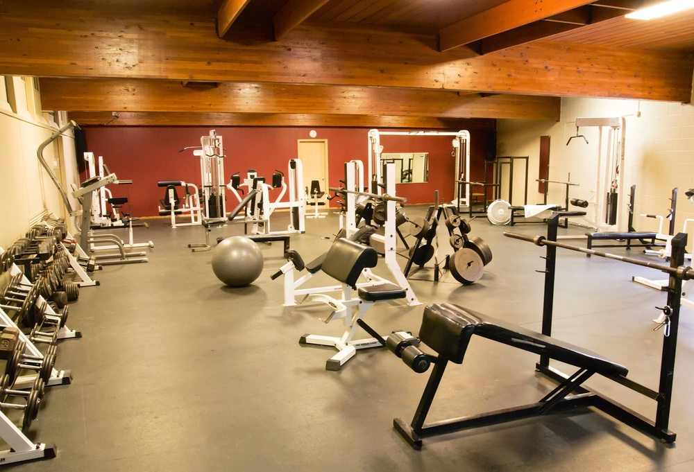 Evans Plunge Mineral Springs Resistance Training Room