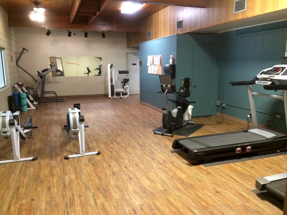 Evans Plunge Mineral Springs Cardio Room