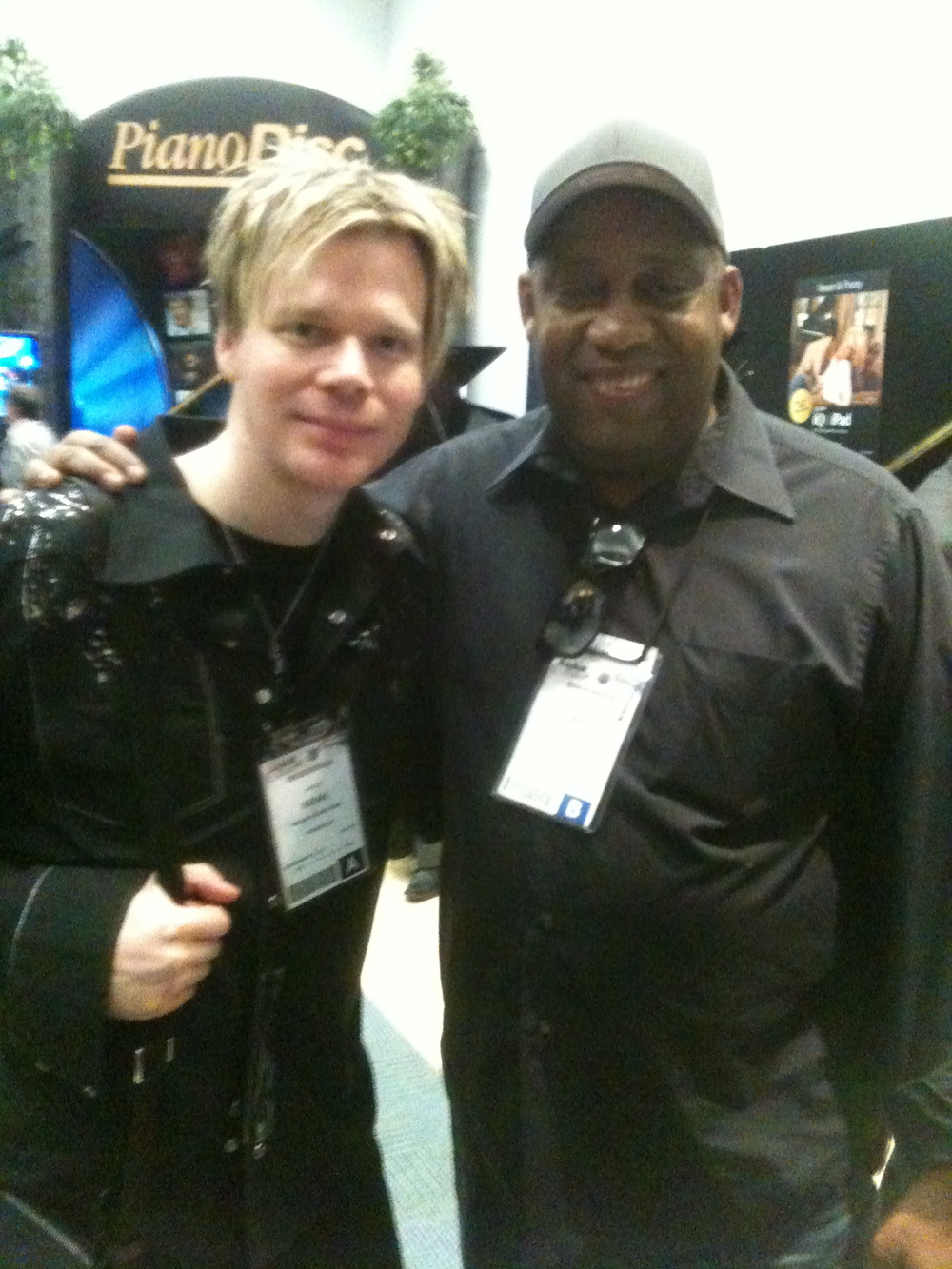 Hanging out with Brian Culbertson