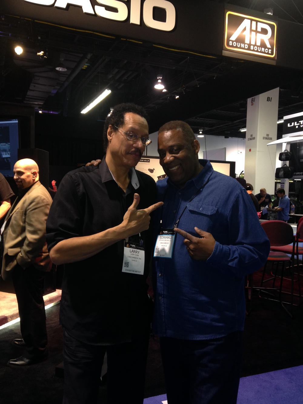Hang-time with Larry Dunn