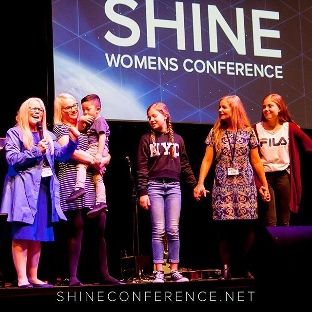 One of our incredible speakers from this year! #shineconf17 #faylenesparkes