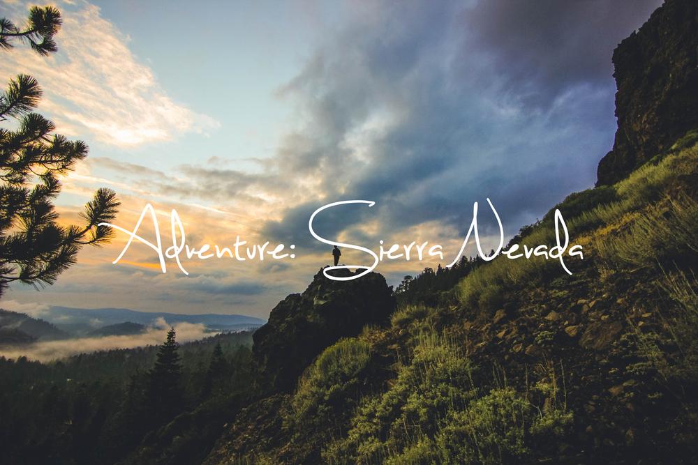 Sierra Nevada Adventure Photography