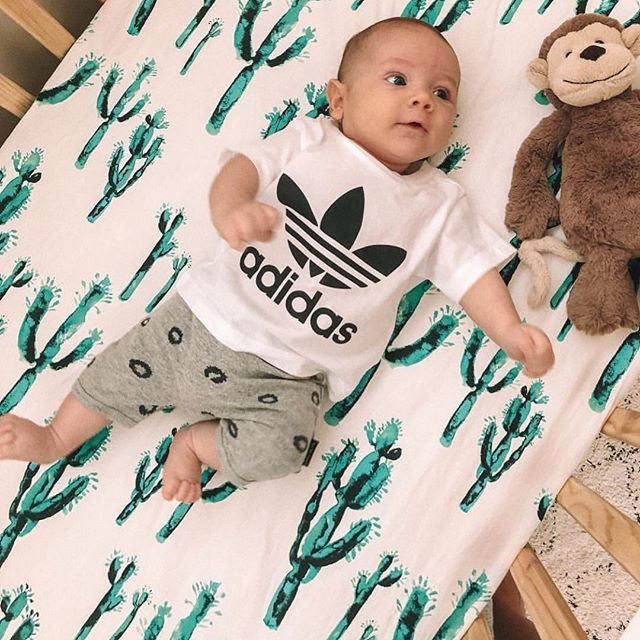 The original 🌵🌵🌵 print  The perfect stocking filler  RG @candiceattwell  #cactus #nursery #local #melbourne #organickids #wolfpack #babywrap #swaddle #newborn #baby #sleep #cactus #kindness #jumper #kids #baby #organic ##sunday #weekend #fashion #kidsfashion #goodvibesonly