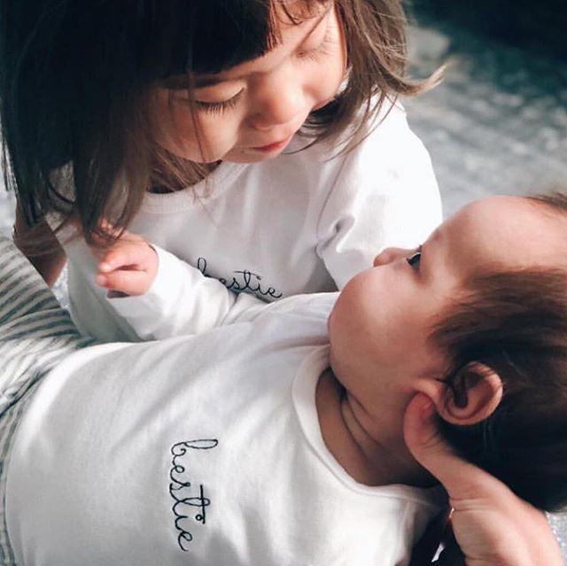 Besties forever 💛💛💛 Thank you @my_little_ruby for sharing these precious photos  #bestie #madeinaustralia #local #melbourne #organickids #wolfpack #babywrap #swaddle #newborn #baby #sleep #cactus #kindness #jumper #kids #baby #organic ##sunday #weekend #fashion #kidsfashion #goodvibesonly
