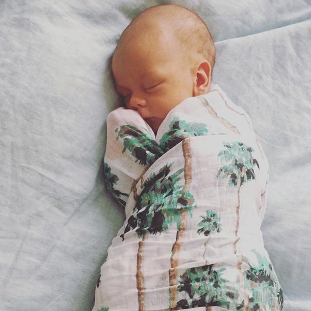 Growing up with Riser 💗  Thank you for sending us the most beautiful photos of your gorgeous boy in his riser blankets and cot sheets @sunshineonashittyday  This made our day 😘  #bestie #madeinaustralia #local #melbourne #palmtrees #organickids  #wolfpack #babywrap #swaddle #newborn #baby #sleep #cactus #kindness #jumper #kids #baby #organic ##sunday #weekend #fashion #kidsfashion #goodvibesonly