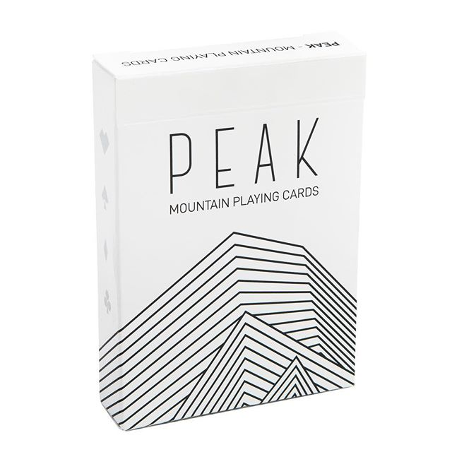 The Peak Playing Cards are a Stellar Factory personal favorite. The intricate line design of each card details the peak top of a different Colorado 14er. They're perfect for a ski bag or to bring to a trip to the cabin. Grab a few on Amazon for the mountain lovers in your life. The links in the bio! . . #colorado #cardgame #cardplayer #bgg #boardgames #toys #stockingstuffers #boardgame #tabletopgames #tabletop #cards #gamenight #playingcards #poker #productphotography #design #gamedesign #moderndesign #toy #giftideas #nature #getoutside #climbing #hiking
